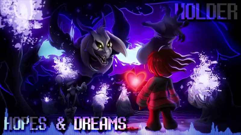 Undertale Remixed - Hopes and Dreams _ His Theme (Holder Remix) Asriel Theme - GameChops