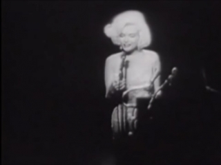 Marilyn Monroe-Happy Birthday Mr. President
