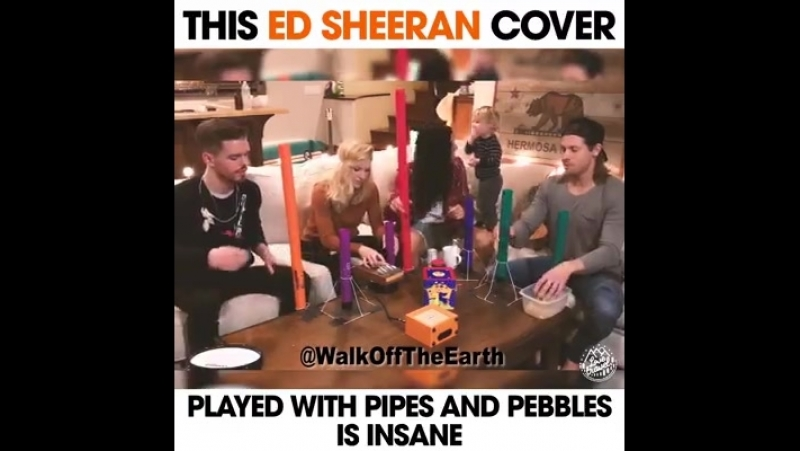 The guy that scissor kicks the cymbals at the end is amazing 😂 Like --> Walk Off The Earth<-- for more cool music!