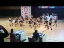 Моя доченька на соревнованиях по танцам
