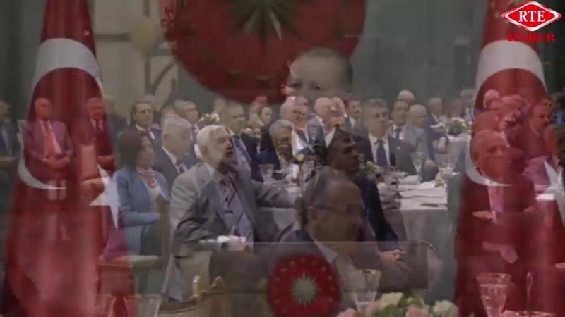 Cumhurbaşkanı Recep Tayyip Erdoğan eski milletvekillerine iftar programı 23 Mayıs 2018