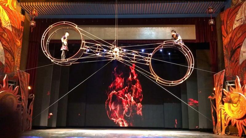 Китайский цирк.