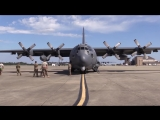 AC-130 Тяжёлый ударный самолёт ВВС США Ангел смерти! - Какое оружие США применила в Сирии, устроив российским наемникам настоящи