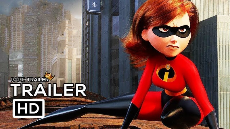 INCREDIBLES 2 International Trailer 3 [HD] Samuel L. Jackson, Holly Hunter, Craig T. Nelson