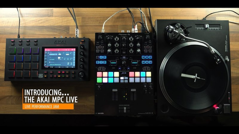MPC LIVE performance with Bleiki and DJ X-Rated
