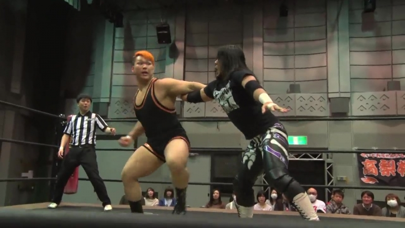 Antonio Honda vs. Daisuke Sasaki vs. Naomi Yoshimura (DDT - Dramatic Age, Age, Ageo)