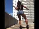 Booty Dance of Brasil in Jeans Shorts