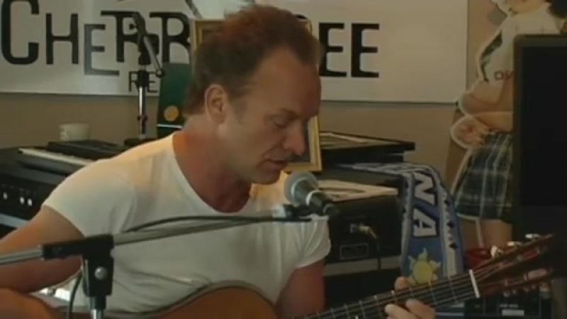 Sting Fragile Live From The Cherrytree House