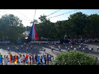 Танец вожатых на фестивале