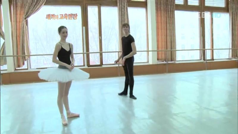 Nikolay Tsiskaridze Master Class in the Bolshoi Ballet Academy
