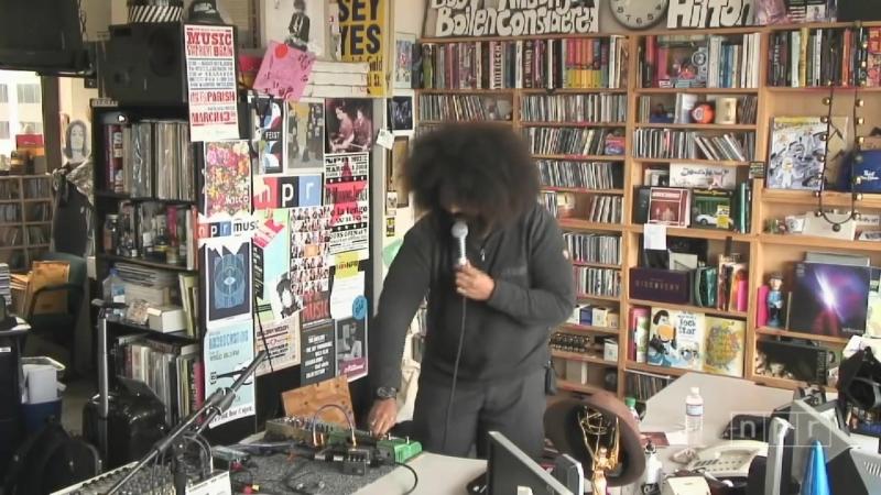 Reggie Watts_ NPR Music Tiny Desk Concert