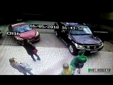 В Омске водитель автобуса устроил массовую аварию из-за того, что ему стало плохо