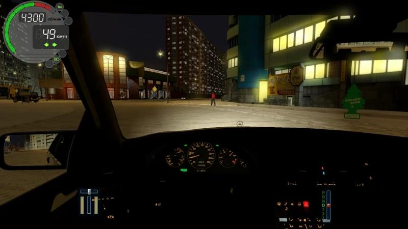 CITY CAR DRIVING / ПРИВЕТ ИЗ 90-Х ПОКАТУШКИ НА КАБАНЕ (W140)
