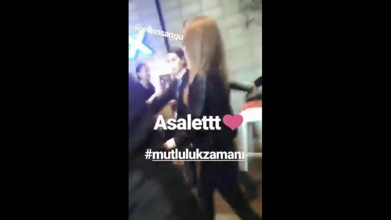 Elçin ve Barış Istanbulda bugün 19.11.2017