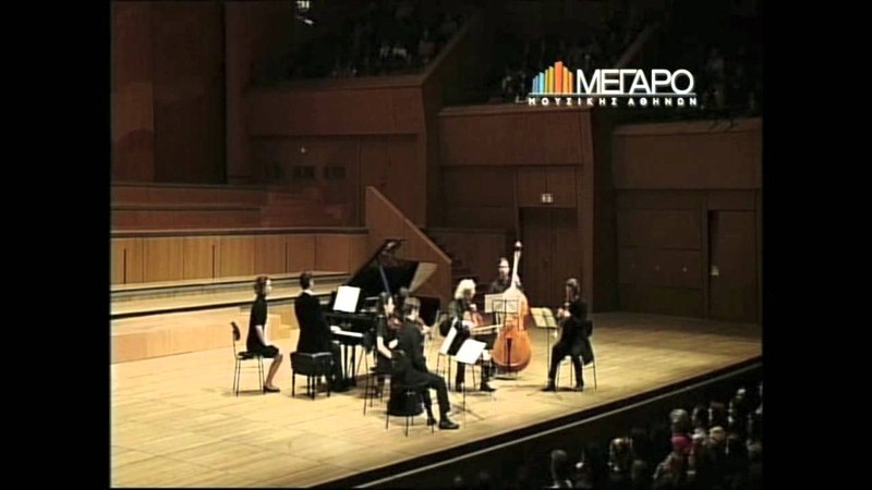 Saint-Saëns: Septet for piano, trumpet strings Op 65, complete