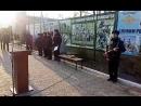 Сейчас в STR Открытие памятника сотрудникам органов внутренних дел погибших при исполнении