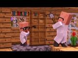 Zombie vs Villager Life 5 - Alien Being Minecraft Animation