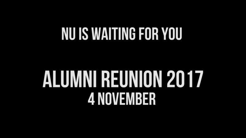 NU Alumni Reunion 2017 promo vol.2