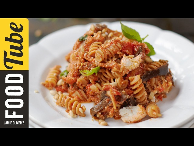 Tomato, Aubergine Ricotta Pasta   Jamie Oliver   Everyday Super Food
