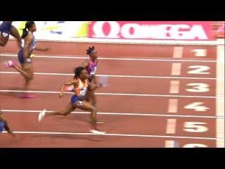 Marie-Josee Ta Lou vs Elaine Thompson 100m - Brussels Diamond League 2017 [1080p]
