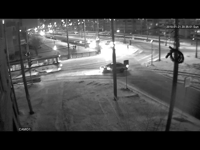 Татищева-Красноуральская. Очередной автолихач