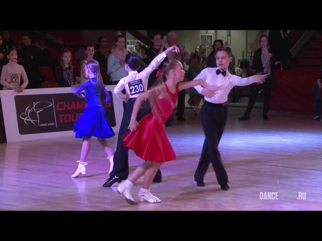 Бакушев Глеб - Рукавицына Арина, Final Samba