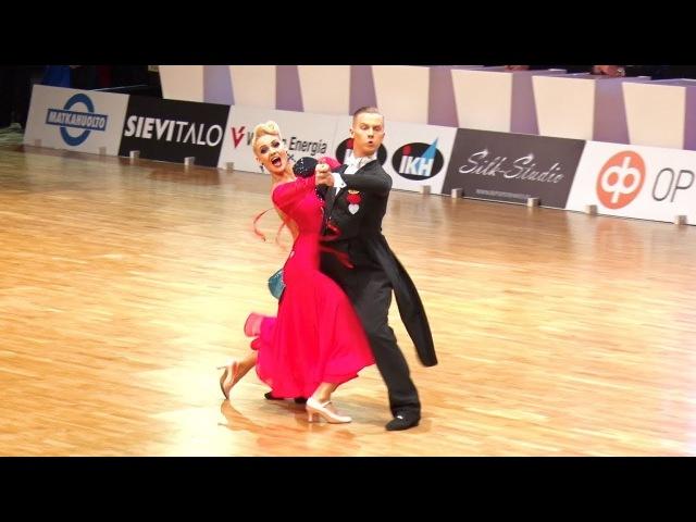 Evaldas Sodeika - Ieva Zukauskaite LTU | Finnish Open 2018 | T