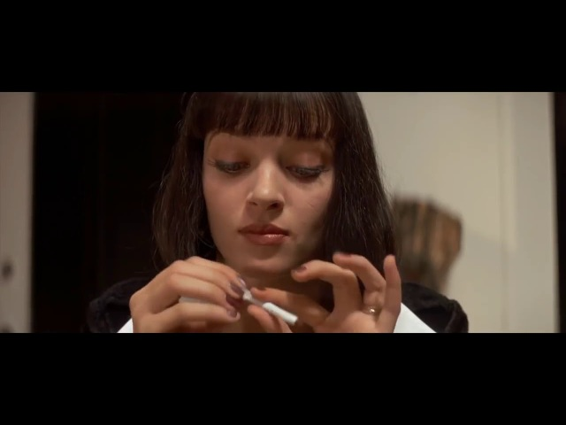 сцена из фильма Криминальное чтиво » Freewka.com - Смотреть онлайн в хорощем качестве