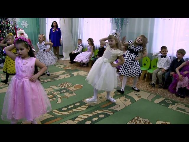 Собинка_Фрагмент новогоднего праздника в детском саду № 4