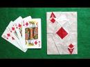 Origami Poker Cards Ace of Diamonds tutorial Mi Wu 折り紙 ポーカーカード оригами Poker karten