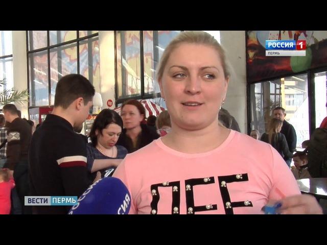В Пермском цирке выступает 6 метровый артист