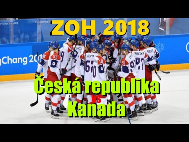 ZOH 2018: Česko - Kanada
