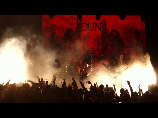 Louna Те Кто в Танке Live at Atlas club Kiev 08 12 2017