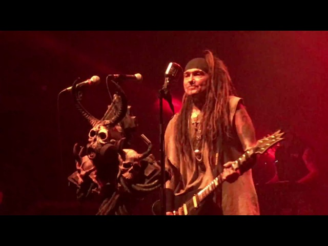 Ministry performs N.W.O. Just One Fix {4K} live in Athens @Piraeus117 Academy, 01.06.2017