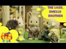 Kids Cartoon 2016 - Rabbit Story – Episode 1 - The Lazy, Smelly Brother - POMPOM4kids