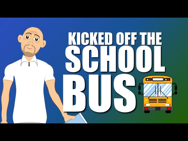 Fighting Bullying is trouble on the School Bus for safety! (School Bus Safety Cartoon)