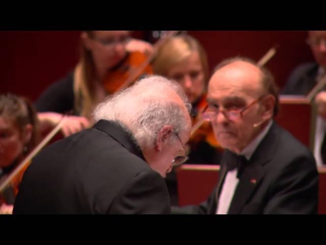 Bernstein 3. Sinfonie (»Kaddisch«) ∙ hr-Sinfonieorchester ∙ Samuel Pisar etc. ∙ Eliahu Inbal