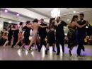 BEST TANGO EVER. 12 Famous Tangueros dance synchronized a milonga Choreography. WOW