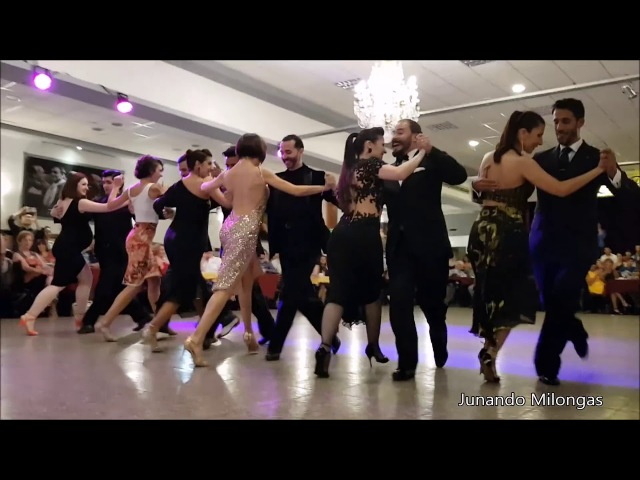 BEST TANGO EVER. 12 Famous Tangueros dance synchronized a milonga Choreography. WOW