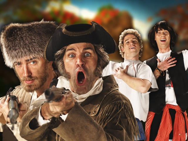 Lewis and Clark vs Bill and Ted. Epic Rap Battles of History Season 4.