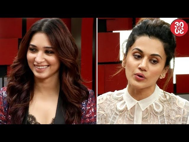 Tamannaah On Not Attending Filmy Parties | Taapsee's Answer On Her Critics