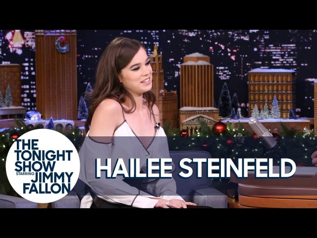 Hailee Steinfeld's Family Chose Her 21st Birthday Drink | The Tonight Show