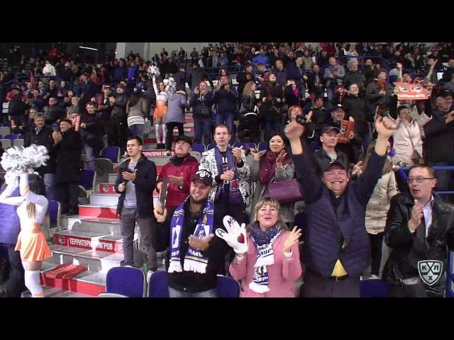 Моменты из матчей КХЛ сезона 16/17 • Гол. 3:2. Йордан Михал (Амур) приносит победу своей комнаде в овертайме 04.10