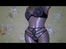 Crystal Set lingerie for a gift Rhinestones suits Bride Set lingerie Handmade Bikini Thongs Sexy Wo