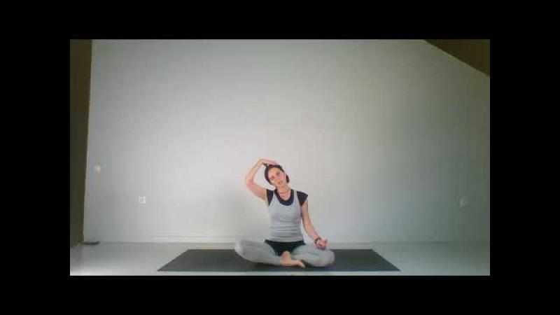 Йогатерапия позвоночник мышцы суставы кровообращение Урок 12 Укрепление мы