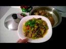 Готовим свинину с овощами на iCook сковороде ВОК.