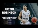 VTBUnitedLeague • Justin Robinson - February MVP