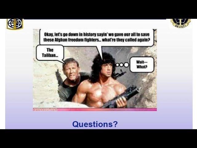 Ужасные презентации Пентагона в PowerPoint подняли на смех