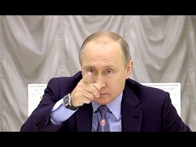 Поставил на место Путин НЕ ПОВЁЛСЯ на циничную речь представителя нечистоплотных застройщиков