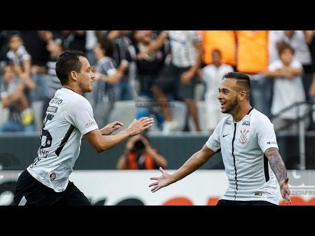 Gol de Rodriguinho Corinthians 2 x 0 Palmeiras Campeonato Paulista 2018